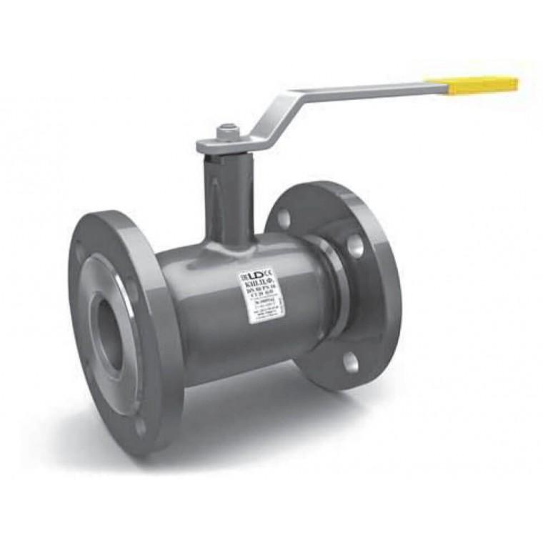 Кран шаровой LD фланцевый стальной стандартнопроходной DN150