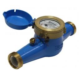 Домовой счетчик для холодной воды (многоструйный мокроход) Powogaz WM-10 DN32