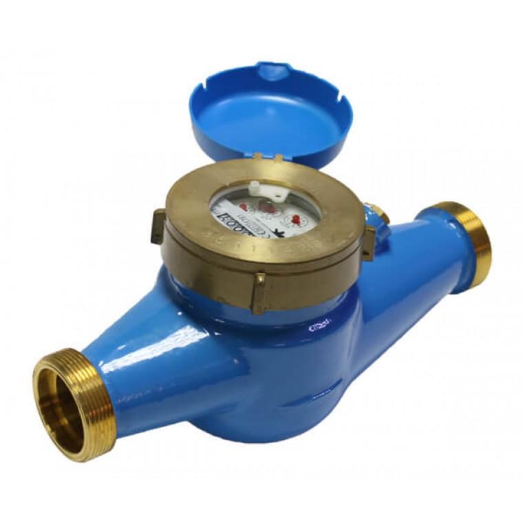 Домовой счетчик для холодной воды (многоструйный мокроход) Powogaz WM-16 DN40