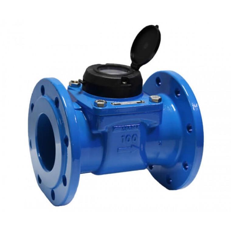 Промышленный турбинный счетчик для холодной воды Powogaz MWN 100 Q3=160 м3/ч
