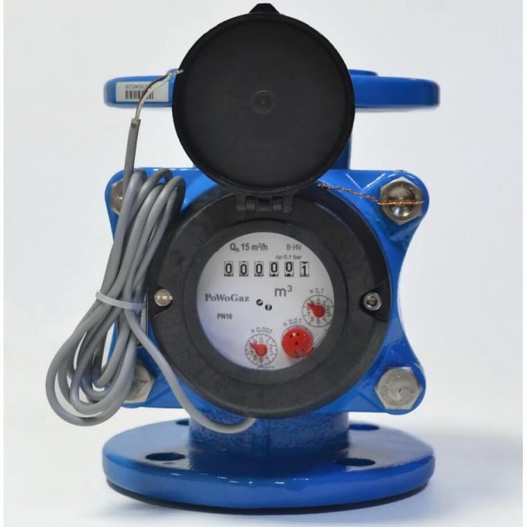 Промышленный турбинный счетчик для холодной воды Powogaz MWN 250-NK Q3=1000 м3/ч
