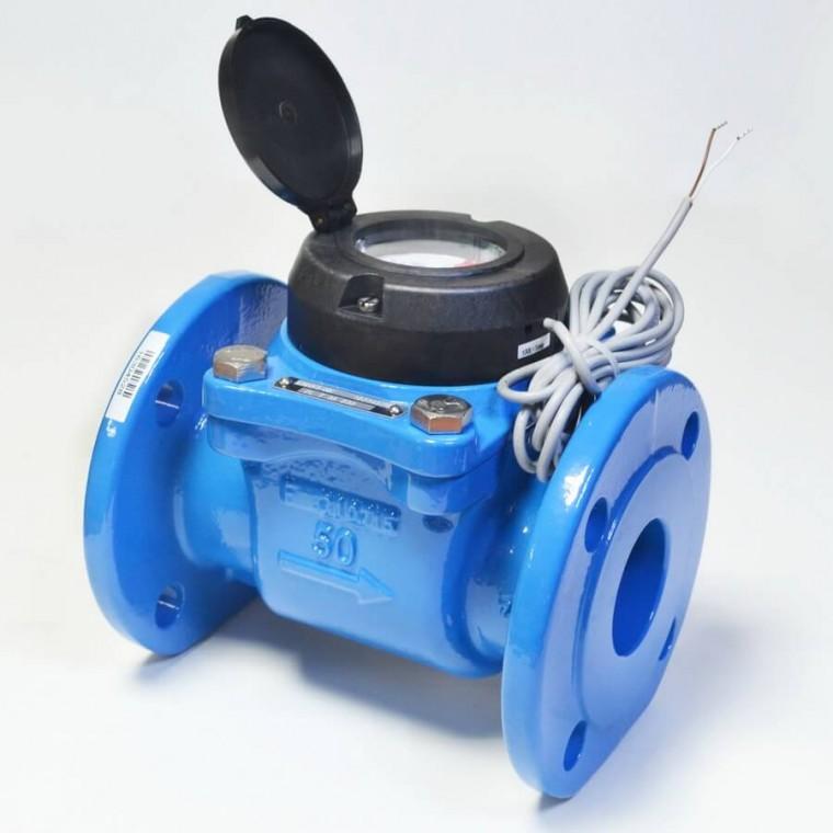 Промышленный турбинный счетчик для холодной воды Powogaz MWN 65-NK Q3=63 м3/ч