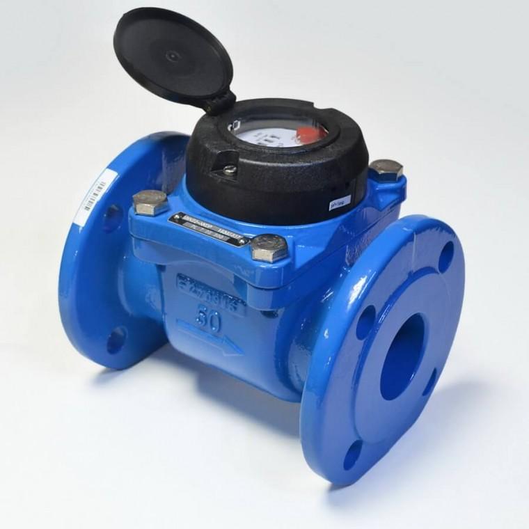 Промышленный турбинный счетчик для холодной воды Powogaz MWN 50 Q3=40 м3/ч