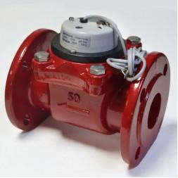 Промышленный турбинный счетчик для горячей воды Powogaz MWN 130-80-NK Q3=63 м3/ч