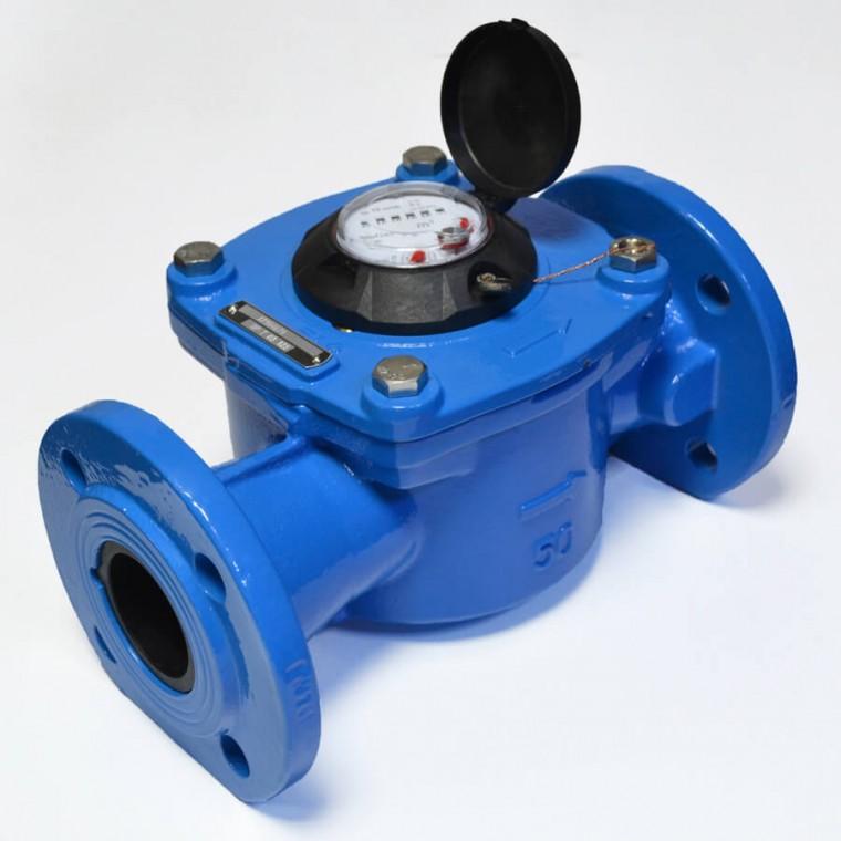 Промышленный крыльчатый счетчик класса C для холодной воды Powogaz IMPERO JS-65 Q3=40 м3/ч