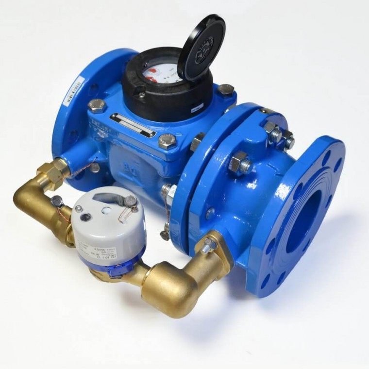 Счетчик воды комбинированный Apator Powogaz MWN/JS-65/4-S DN65