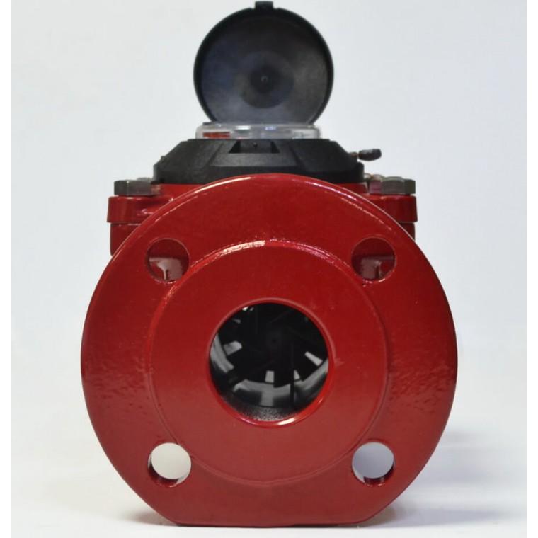 Промышленный турбинный счетчик для горячей воды Powogaz MWN 130-65 Q3=40 м3/ч