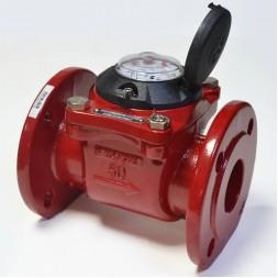 Промышленный турбинный счетчик для горячей воды Powogaz MWN 130-80 Q3=63 м3/ч