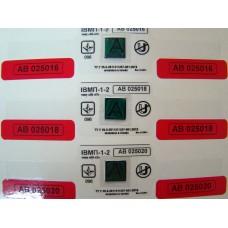 """Индикатор магнитного поля ИВМП 1-2 типа """"ИН-АТ"""" со стикерами"""