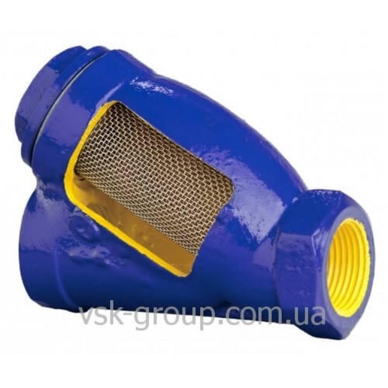 Фильтр сетчатый чугунный муфтовый Zetkama 823 DN50